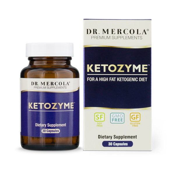 Dr Mercola Ketozyme - Enzymes for Ketogenic Diet