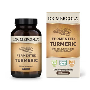Dr Mercola's Organic Fermented Turmeric 90 Day - An outstanding source of antioxidants, turmeric is especially noted for its curcuminoid content.