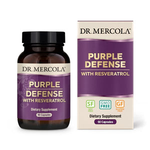 Dr Mercola Purple Defense with Reservatrol 90 Day