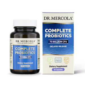 Dr Mercola Complete Probiotics (70 Billion CFU) 30 Capsules