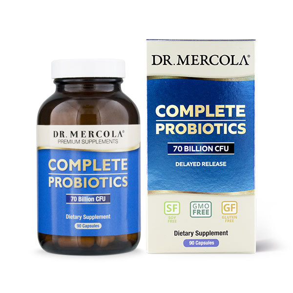 Dr Mercola Complete Probiotics (70 Billion CFU) 90 Capsules