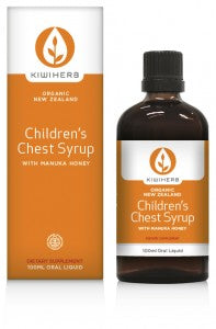 Kiwiherb Children's Chest Syrup (Organic) 100ml