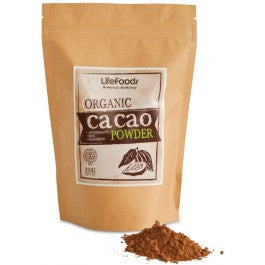 Lifefoods Organic Heirloom Cacao Powder (Raw)