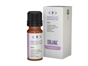 Absolute Essentials Basil Essential Oil (Organic)