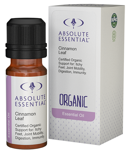 Absolute Essentials Cinnamon Leaf Essential Oil (Organic)