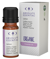 Absolute Essentials Lemon Essential Oil (Organic)