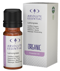 Absolute Essentials Lemongrass Essential Oil (Organic)
