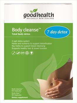 Good Health Body Cleanse Total Body Detox