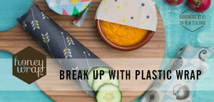 Honeywrap - Reusable Food Wrap. Break up with plastic.