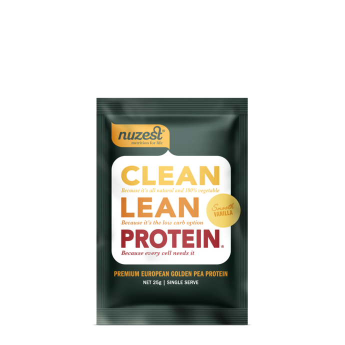 Nuzest Clean Lean Protein Sachet in Smooth Vanilla
