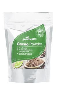 Good Health Organic Cacao 250g (Raw)