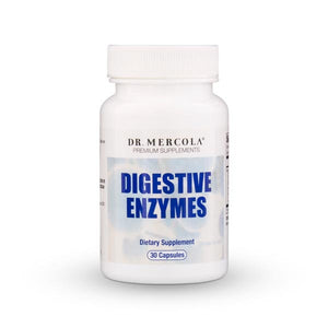 Dr Mercola Digestive Enzymes provide a supplement to kick start your digestive system to brown the foods you eat - enabling you to receive all the nutritional value available from your meals.