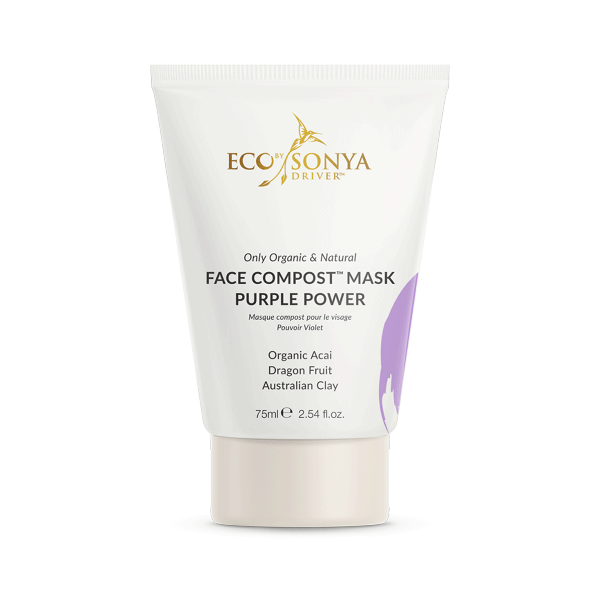 New! Eco By Sonya Face Compost Purple Power Face Mask