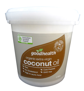 Good Health Extra Virgin Coconut Oil - Organic!