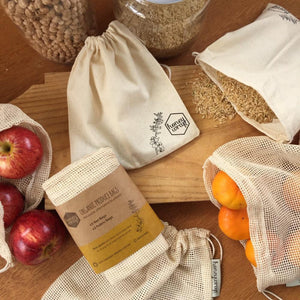 Honeywrap Produce & Bulk Bin Bags - Set of 5