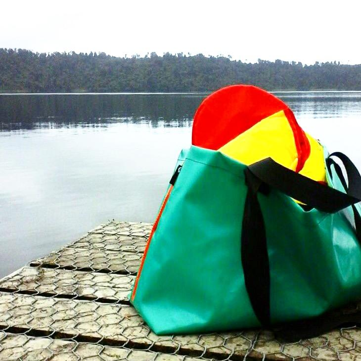 The Green Collective Encore Super Strong Shopping and Tote Bag with sports gear