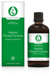 Herbal Throat formula is specifically designed to help manage mild upper respiratory tract infections.