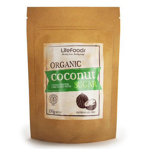 Lifefoods Organic Coconut Sugar