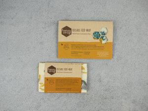 Honeywrap - Reusable Food Wrap.