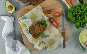 Honeywrap - Reusable Food Wrap. Forest Design.