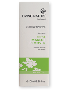 Living Nature Gentle Makeup Remover Packaging