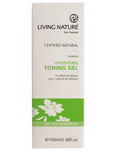 Living Nature Hydrating Toning Gel Packaging