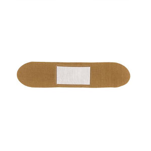 Patch Organic Bamboo Adhesive Wound Care Strips (Plaster) in Aloe Vera showing the Wound Care Strip