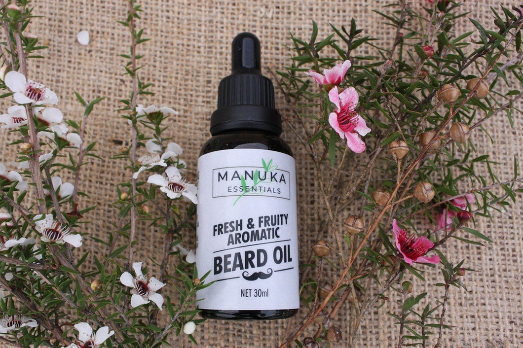 Manuka Essentials Fresh & Fruity Aromatic Beard Oil