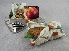 Honeywrap - Reusable Food Wrap. Wrapping Various Lunch Foods.