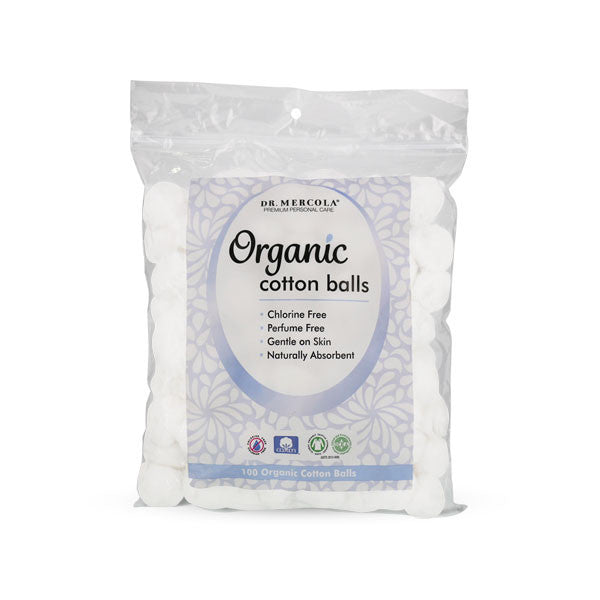 Mercola Organic Cotton Balls