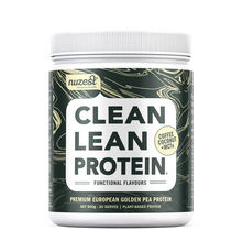 Nuzest Clean Lean Protein in Coffee Coconut + MCTs in 500g. Buy online at premium prices.