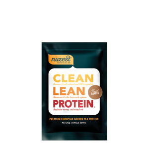 Nuzest Clean Lean Protein Sachet in Real Coffee