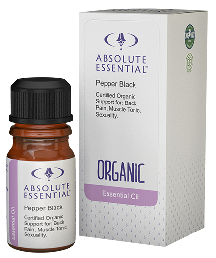 Absolute Essentials Black Pepper Essential Oil (Organic)