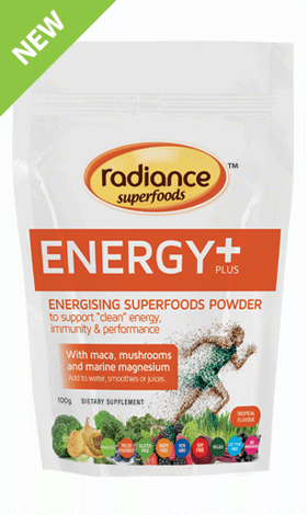 Radiance Superfoods Energy Plus Powder