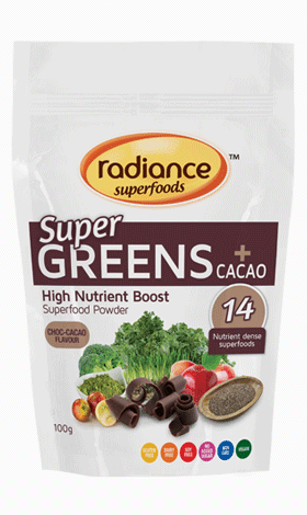 Radiance Superfoods SuperGreens + Cacao