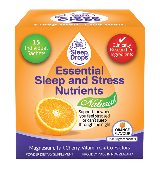 SleepDrops Essential Sleep & Stress Nutrients