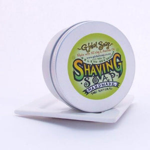 Global Soap's traditional shaving soap is hand made with beautiful oils to generate a rich lubricated lather. It protects and softens for a close and comfortable shave, leaving your skin smooth and moisturized.