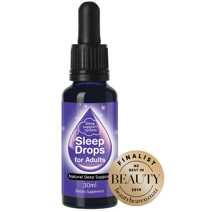 SleepDrops contains 13 of the most scientifically researched, studied and recognised herbal remedies for sleep problems combined with 11 homeopathic sleep remedies that support normal sleep patterns.  30ml.