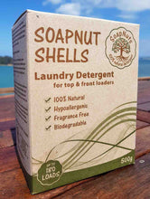 A highly effective, 100% biodegradable, economical laundry option! SoapNuts last for 5 washes so a 500g box will last approx. 180 loads!