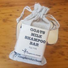 Simple Naked Soap Goats Milk Shampoo Bar and Container