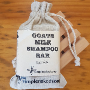 Simple Naked Soap Goats Milk Shampoo Bar