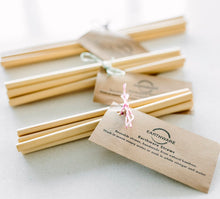 Earthware Natural Bamboo Straws