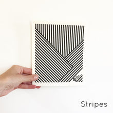 SPRUCE. A super star eco friendly dishcloth doing good things for the planet. In Stripes Design.