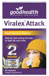 Good Health Viralex Attack supports a rapid immune response to challenges towards the body's immune system.