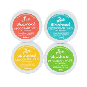 Woohoo! Natural Deodorant - Sample Pack