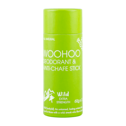 Woohoo! Body Deodorant in Wild 60g Plastic Free Stick! Perrfect for an extra boost