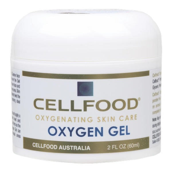 Cellfood Oxygen Gel restores skin's natural balance