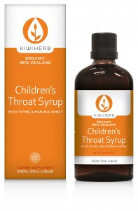 Kiwiherb Children's Throat Syrup (Organic) 100ml