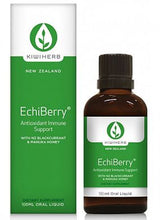 Kiwiherb EchiBerry® is perfect for any situation where immunity may be compromised by increased oxidative stress.  100ml.
