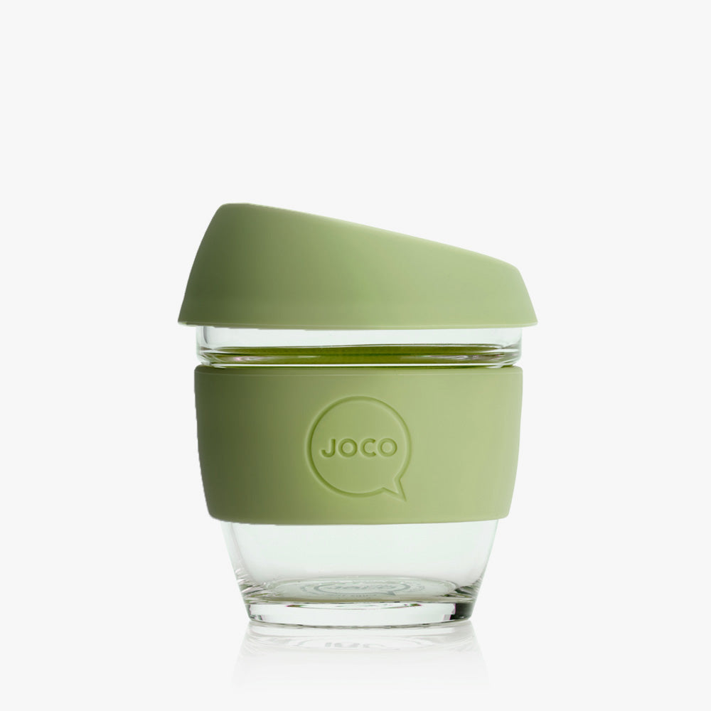 Joco reusable coffee cup, 8 oz in Army